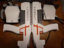 LASER X Set of 2 Player Gaming Set LAZER TAG GUNS. Works