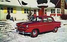 Old Print. Red 1957 Standard Vanguard Mark III Automobile Ad