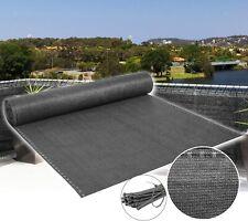 Zaunblende Sichtschutz 150 g/m² Tennisnetz mit Zubehör Staubschutz Größe wählbar