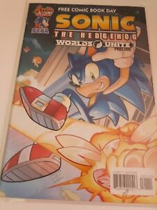 Archie Comics Sonic The Hedgehog Worlds Unite Comic Book Free Combined Shipping!