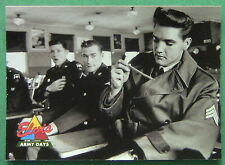 ELVIS  1992 THE ELVIS COLLECTION, ARMY DAYS #74 CARD, PRESLEY'S BACK