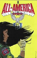 All America Comix Comic 1 Cover A First Print 1st appearance of America Vasquez