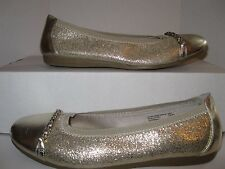 American Eagle Ballet Flats Women's Shoes Size 6 Gold