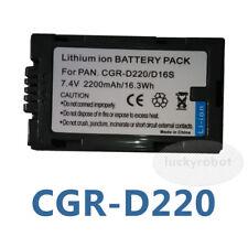 New Battery for PANASONIC CGR-D14 CGR-D16 CGR-D28