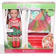 WELLIE WISHERS AMERICAN GIRL WILLA DOLL 7 PCS SET COLLECTIBLE