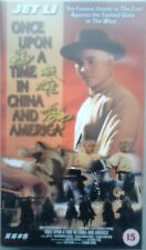 Once Upon A Time In China And America - Jet Lee - Vhs