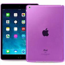 Transparent Pink Silicone Cover Case For Apple iPad Air 1