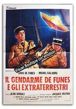 Affiche 140x200cm LE GENDARME ET LES EXTRA-TERRESTRES 1979 Louis De Funès (#)
