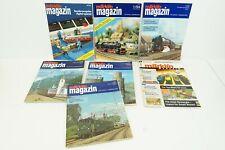 Marklin Magazine 7x Editions w/ Special Digital Edition English & German A94