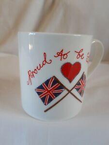 McLAGGAN SMITH MUG ... SCOTLAND - PROUD TO BE BRITISH  -  VERY GOOD CONDITION.