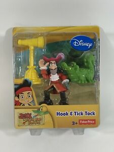 NEW Fisher-Price Jake and the Never Land Pirates: Hook & Tick Tock Figure Pack