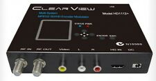 ClearView HD1112+ Multi-System MPEG2 SD/HD Digital Modulator HDMI and CVBS Input