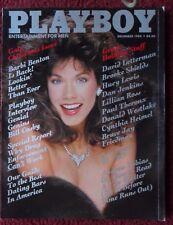 Playboy Magazine Nov 1985 ~ Barbi Benton, Bill Cosby + Carol Ficatier Centerfold