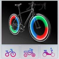 Pair Aluminum Coloured Fancy Valve Caps Metallic Metal Cap Bike Car Wheel Tyres