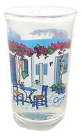 New Shot Glass Greek Greece Athens Tequila glass Greek Village House Greece