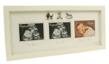 Triple Baby Scan Photo Frame NHS Ultrasound Pictures First Photo Newborn Gift