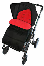 Footmuff / Cosy Toes Compatible with Chicco Pushchair Fire Red