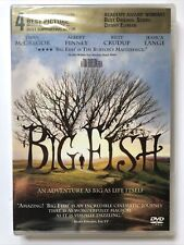 Sealed Big Fish (2004, Dvd) Director Tim Burton Ewan McGregor Billy Crudup