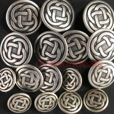 6 Celtic Knot Metal Buttons 15mm 19mm or 23mm , 10% Off for two packs or more