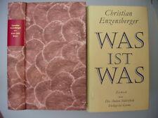 DIE ANDERE BIBLIOTHEK – Band 33 - Christian Enzensberger - WAS IST WAS -