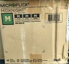 Microflex Midnight Nitrile Gloves Size Medium 10 Boxes Of 100 Gloves Per Case