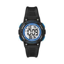 Timex TW5K84800 Marathon Digital Mid Marathon Alarm Chronograph Watch Black New