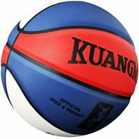 Kuangmi Double Color Basketball Training Games PU Leather Indoor/Outdoor Size 7