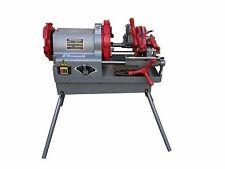 "Electric Pipe Threader Machine (1/2"" - 4"") Threading Cutter, Deburrer NPT P100"