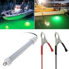 12V Underwater Fishing Light LED Night Light Boat Lamp Bait Lure Attracts Fish