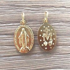 Chapel of Our Lady of the Miraculous Medal Oval Pendant (Small)