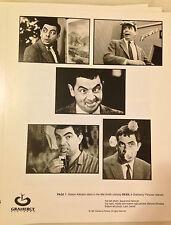BEAN (1997) Press Kit Photos; Rowan Atkinson, Peter MacNichol; Mr. Bean