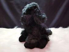 Ganz Plush Stuffed Black Poodle HM191