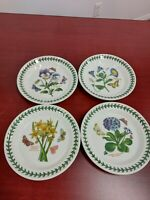 Portmeirion botanic garden set of 4 assorted bread and butter plates