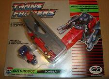 TRANSFORMERS MICROMASTER 5528/5507 DELUXE AUTOROBOT BOMBER/OVERLOAD HASBRO/GIG