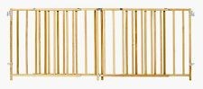 Wooden Kids Safety Extra Wide Large Wood Gate Pet Baby Dog Door Security NEW
