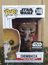 Funko Pop Vinyl - Star Wars #300 Chewbacca - new - Smuggler's Bounty Exclusive