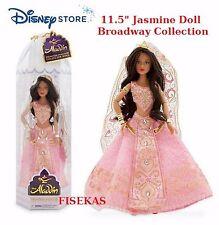 "Disney Princess Jasmine 11.5"" Bride Wedding Doll Aladdin Broadway Musical NEW"