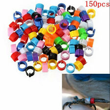 New listing 150Pcs Bird Ring Leg Band for Pigeon Parrot Finch Canary Hatch Poultry Rings /