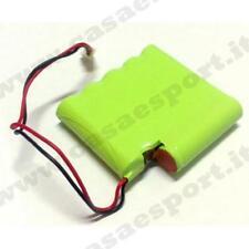 Pacco batteria 1500mA 7,2 V per GLOBUS MYSTIM ELITE 4 accessori G0653