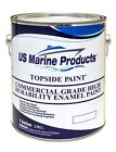 Marine Topside Commercial High Durability Enamel Boat Paint Light Gray Gallon