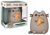Pusheen The Cat with Pizza Funko POP 10 Inch #29 - Target Exclusive - New In Box