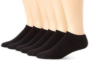 Hanes Men's 6 Pack Classics No Show Socks, Sock Size: 10-13 / Shoe Size: 6-12