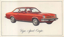 Chevrolet Vega Sport Coupe 1976 US issued Postcard