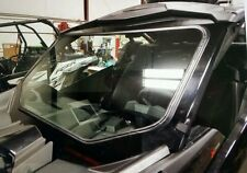 Can am x3 brp maverick FULL glass windshield w/ 1 electric wiper