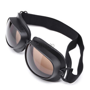 Motorcycle Goggles Retro Vintage Glasses For Harley Cruiser Scooter Cafe Racer