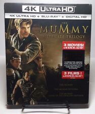 The Mummy Ultimate Trilogy (4K Ultra HD,Blu-ray, Digital HD) NEW - Free Shipping