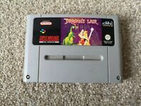 Super Nintendo SNES Dragon's Lair Game PAL - Cartridge Only