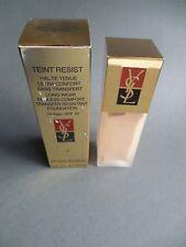 YSL Teint Resist Long Wear Transfer Resistant Foundation - #2 - 30ml/1fl oz NIB