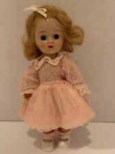 """Adorable Vintage Cosmopolitan 8"""" Ginger Walker Doll - 1950's"""