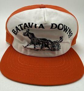 Vintage New Era Batavia Downs Horse Betting Track Casino NY, Mesh Snapback Hat
